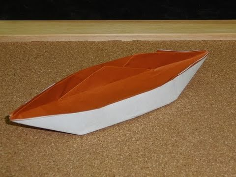 Daily Origami:  074 - Boat