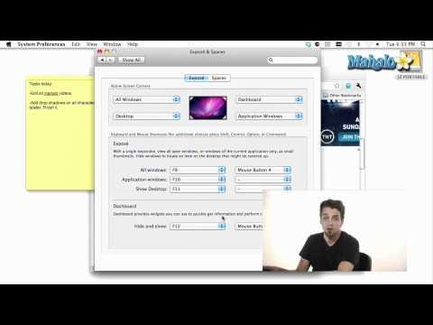 Using a Mac - Expose