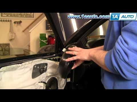How To Install Replace Side View Mirror Honda CR-V 02-06 1AAuto.com