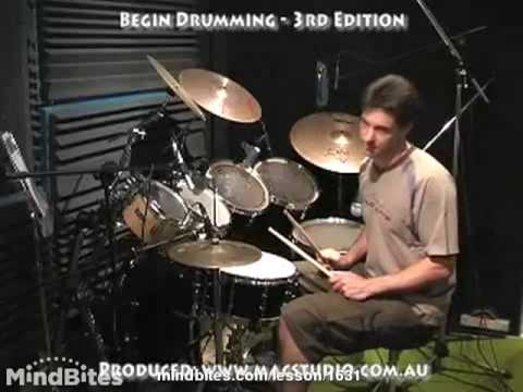 How to Play Drums: Two Basic Rock Beats
