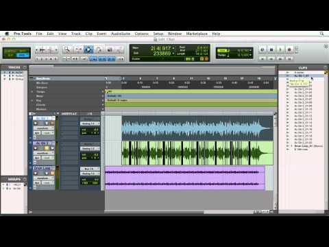 Pro Tools 10: Nondestructive editing and region types | lynda.com tutorial