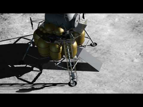 Future Mission to the Moon, HD