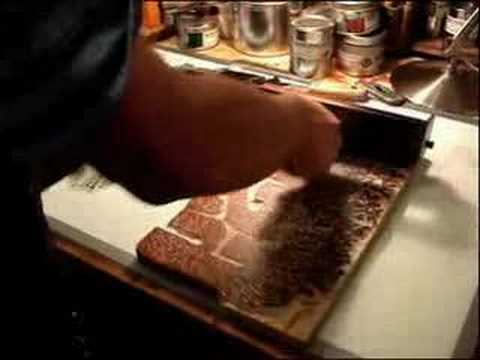 Tugboat Printshop shows you how to make a woodcut printed T-