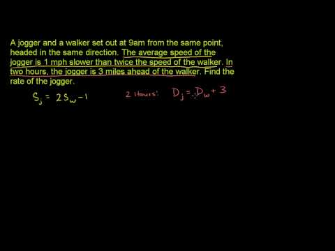 Systems and rate problems 3