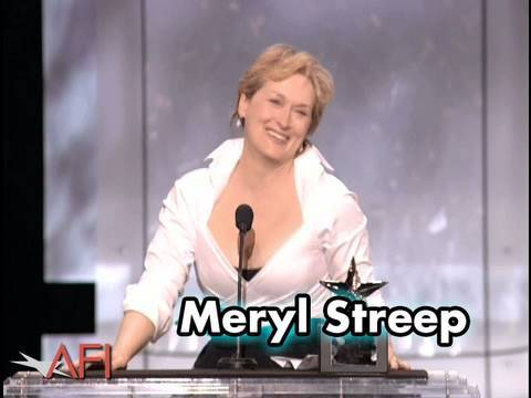 Meryl Streep Accepts the AFI Life Achievement Award in 2004