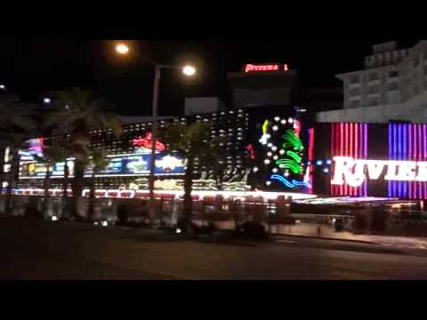 MBLV09 , Video 20, The Riviera Hotel at night