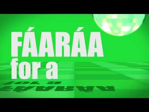 Pronunciation - #28 - For a (FÁARÁA)