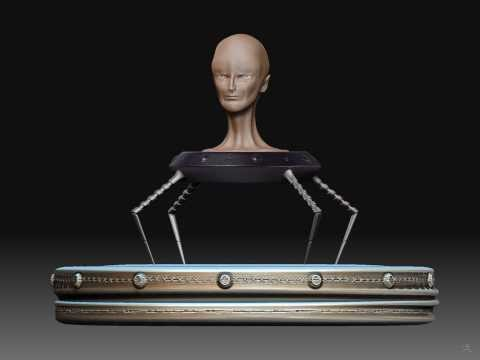 Zbrush Model - The Machine