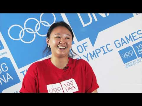 Young Ambassador - Korea - Tina Eunhui - Singapore 2010 Youth Olympic Games
