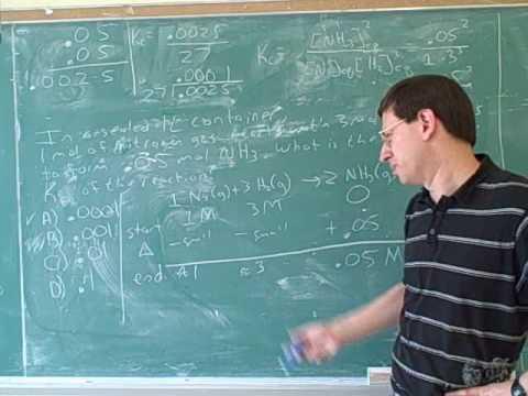 Equilibrium. Le Chatelier's principle (12)