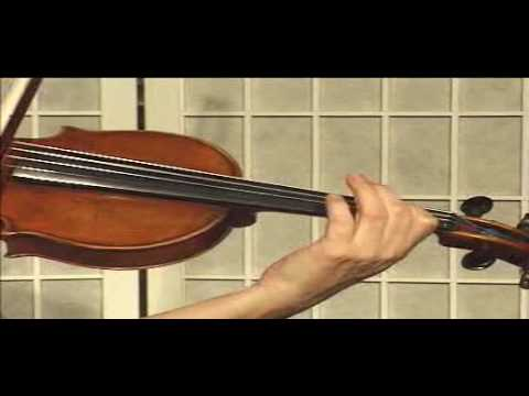 Violin Lesson - Song Demonstration - Canon in D (Ph.3)