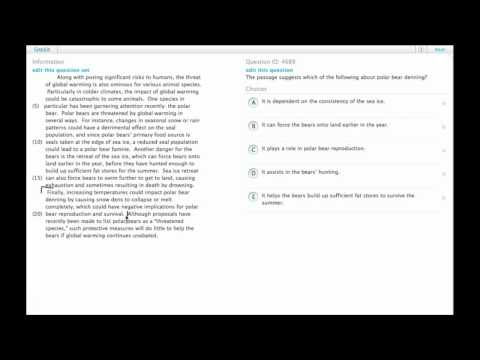 Grockit GMAT Verbal - Reading Comprehension: Question 4689