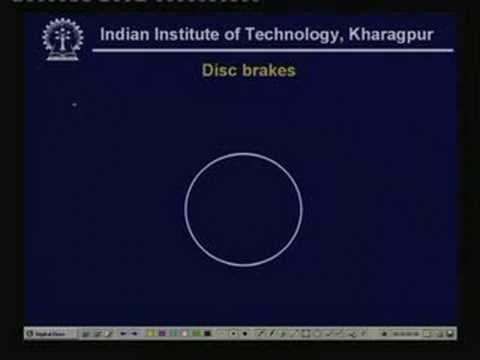 Lecture - 40  Design of Brakes - II