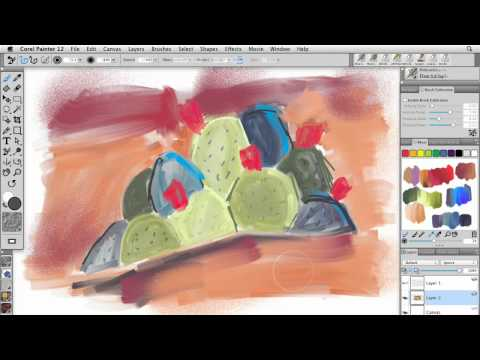 Understanding what Painter 12 can do | lynda.com tutorial