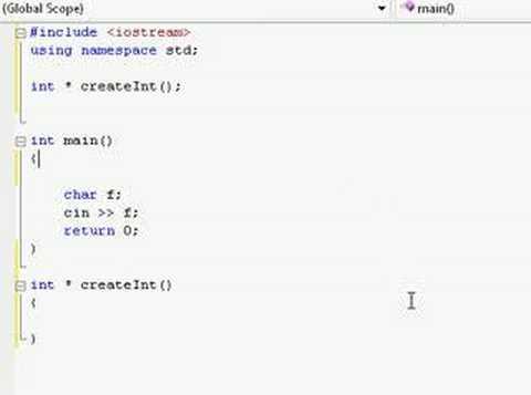 C++ Tutorial (48) - Absolute n00b spoonfeed