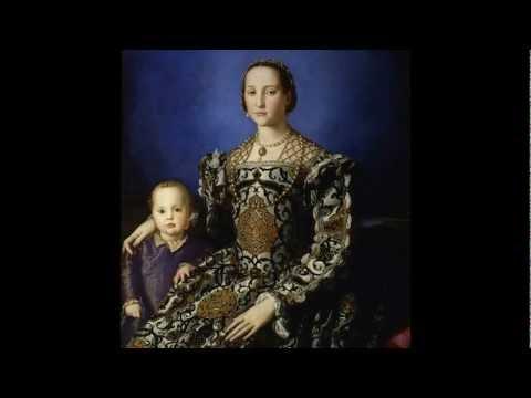 Bronzino, Portrait of Eleonora di Toledo with her son Giovanni, 1544-1545