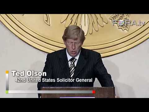 Race Issues and the Supreme Court - Ted Olson
