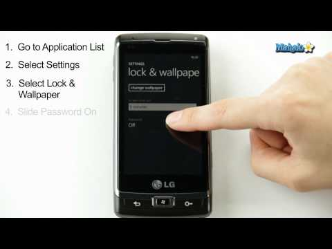 How to Set a Password on Windows Phone 7