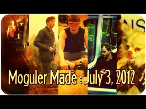 Horror Films, Puppies, a Shoulder Rig Review, and More! : Moguler Made: July 3, 2012