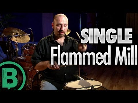 Single Flammed Mill - Drum Rudiment Lessons