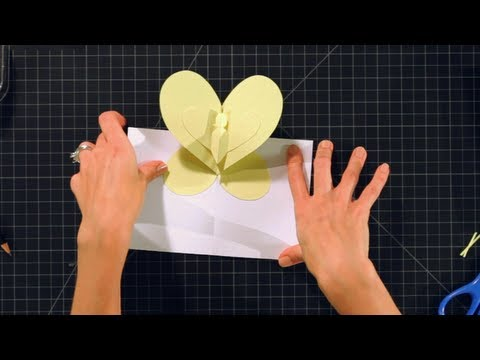 How to Make Pop-Up Cards and Crafts: Butterfly