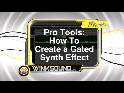 Pro Tools: How To Create a Gated Synth Effect