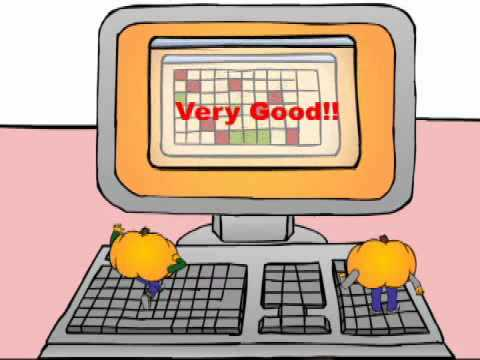 "Classroom Objects 5: Kids English Vocabulary Cartoon by Pumkin.com -""Shrunken Pumkins"""