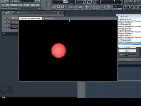 FL Studio ZGameEditor Visualizer Tutorial: Midi Event Music Visualization