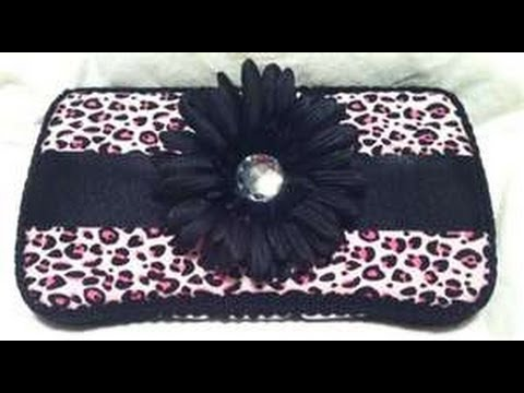 how to make a fashionable baby wipe case