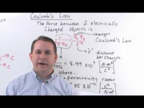 Electricity and Magnetism - Coulomb's Law