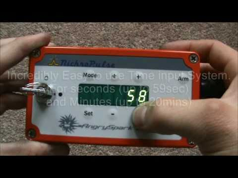 NichroPulse Angry Spark III Firework Ignition System Demo
