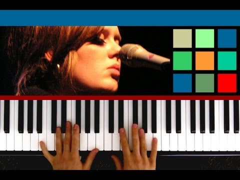 """How To Play """"Turning Tables"""" Piano Tutorial (Adele)"""