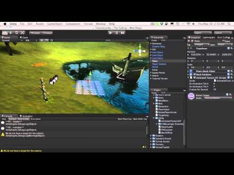 226. Unity3d Tutorial - Animated Texture