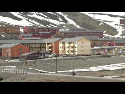 Venus solar transit 2012 - Longyearbyen establishing shots