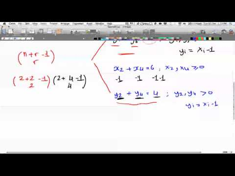 Discrete Math 2-Tutorial 7- Combinations w/repetition Part 2