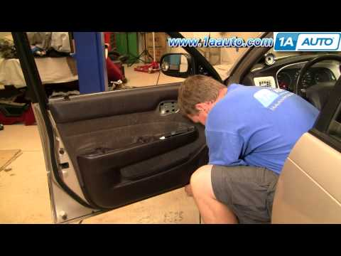 How To Install Replace Door Panel Toyota Corolla 94-97 1AAuto.com