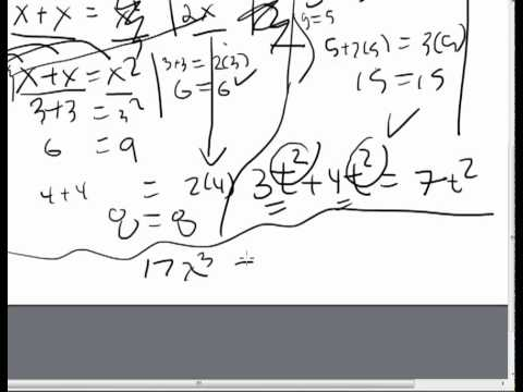 Like Terms in Algebra
