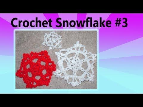 Crochet Snowflake 3