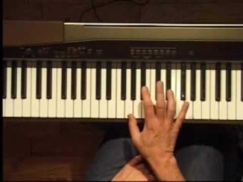 Piano Lesson - Eb Major Triad Inversions (Right Hand)