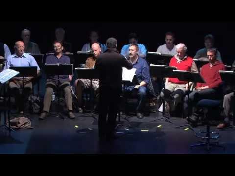 TEDxFlanders - opera choir - rehearsal