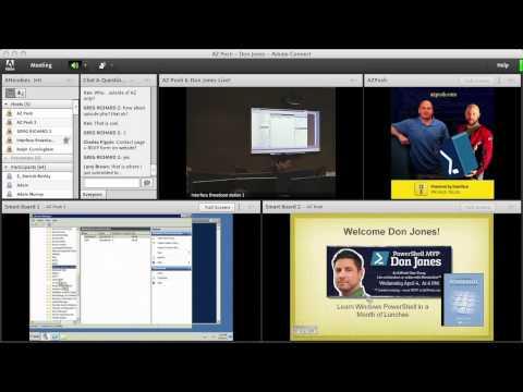 Don Jones PowerShell Live at AZPosh User Group - Part 1 of 4