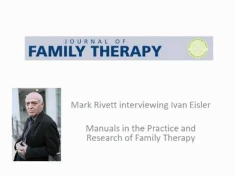 Manuals in the Practice and Research of Family Therapy- An interview with Evan Eisler