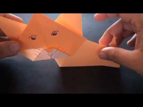 Origami Daily - 373: Cat - TCGames [HD]