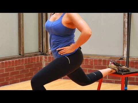 Best Leg Workout for Women: Bulgarian Split Lunge