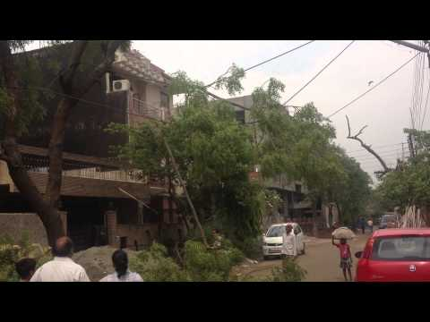 MOMENTS OF INDIA 33 (Removing the tree from the wires)