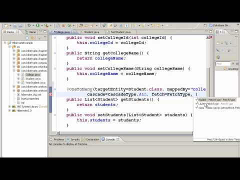 Java Hibernate Tutorial Part 17 - One to Many Mapping