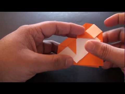 Origami Daily - 173: Message Heart Card (Valentine's Day) - TCGames [HD]