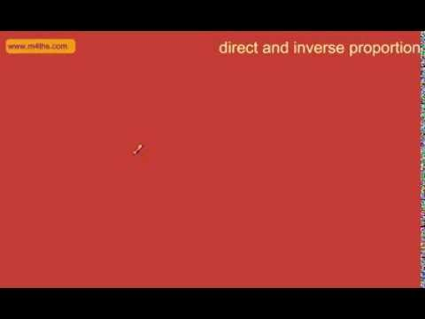 15 minutes of Direct and Inverse Proportion Revision (GCSE Higher Maths)
