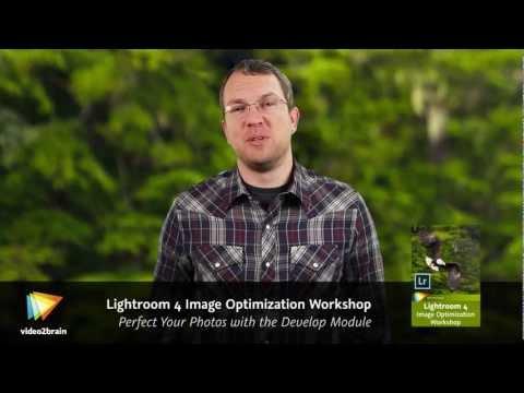 Lightroom 4 Image Optimization Workshop Trailer