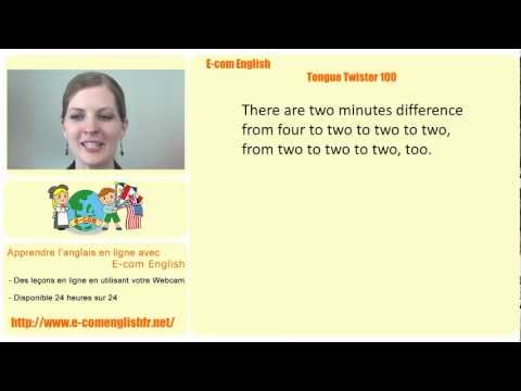 E-com English: Tongue Twister 95/100